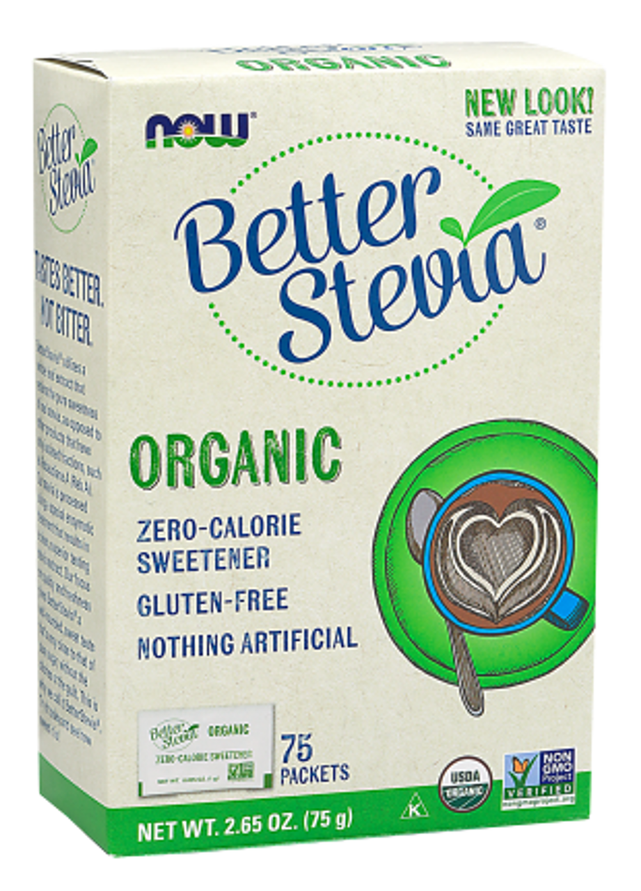 BetterStevia™ Organic (75 Packets)