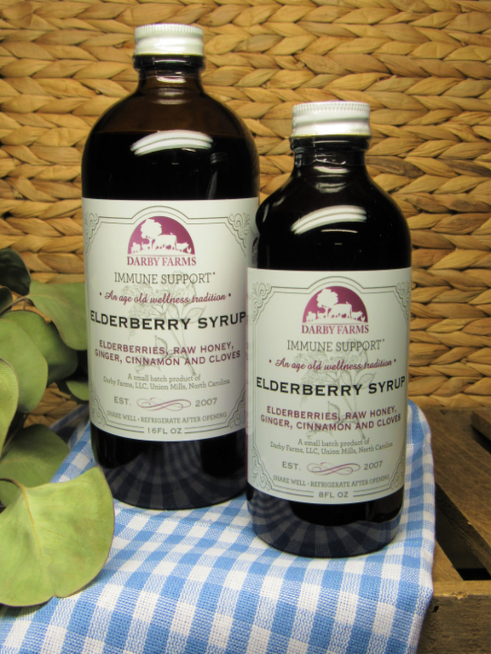 Elderberry Syrup from Darby Farms