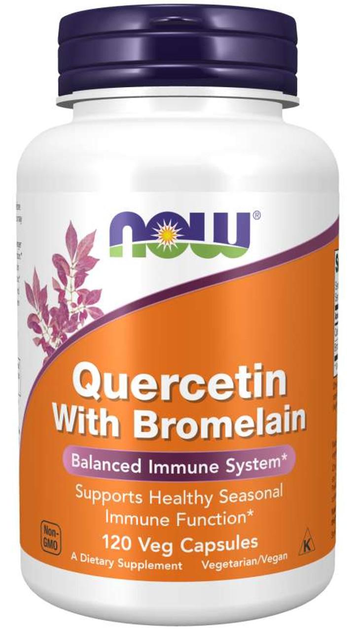 Quercetin with Bromelain (120 caps)