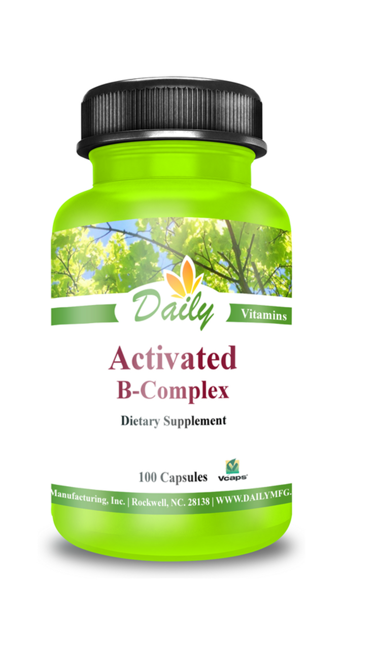 Daily Manufacturing Activated B-Complex (100)