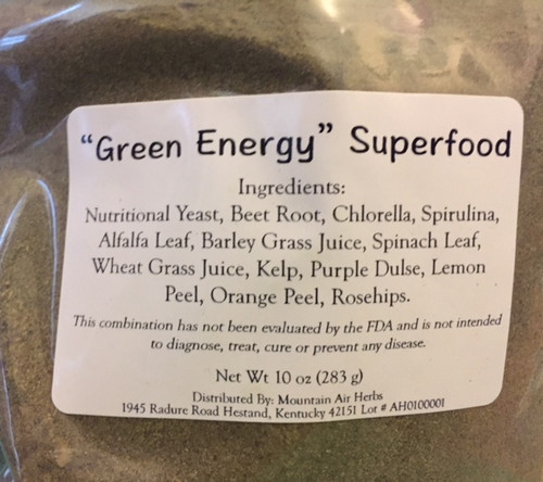 Green Energy Superfood