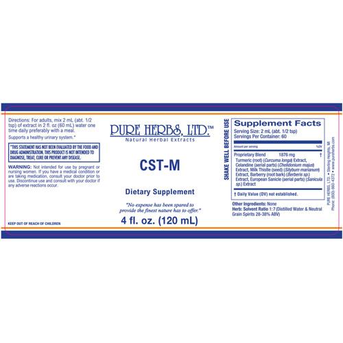 Pure Herbs, Ltd.  CST-M (4 oz.)