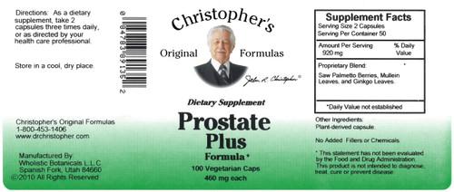 Prostate Plus Formula (100 caps)