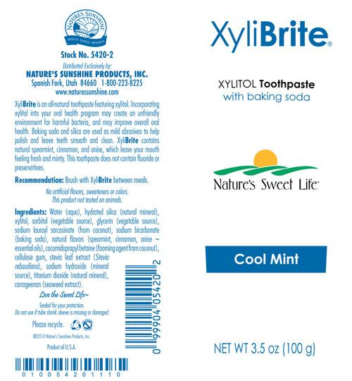 XyliBrite Toothpaste (3.5 oz. Tube)