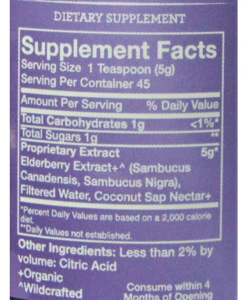 Kid's Elderberry Syrup from Darby Farms | 8 fl oz