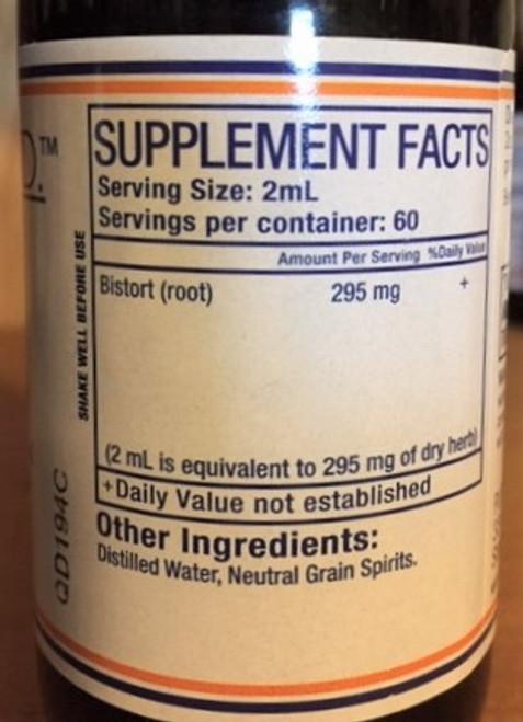 Pure Herbs, Ltd.  Bistort (4 oz.)