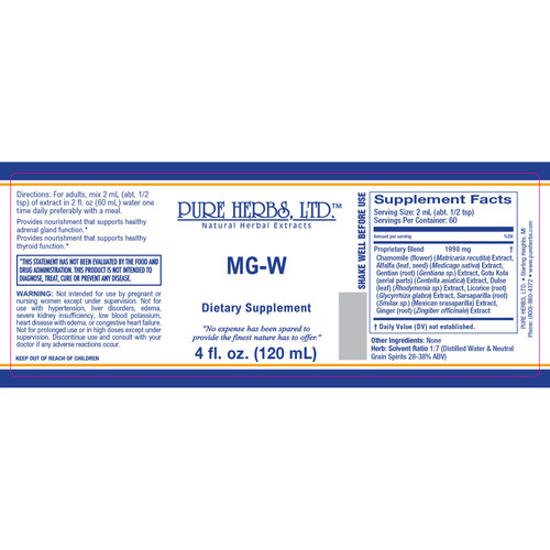Pure Herbs, Ltd. MG-W (4 oz.)