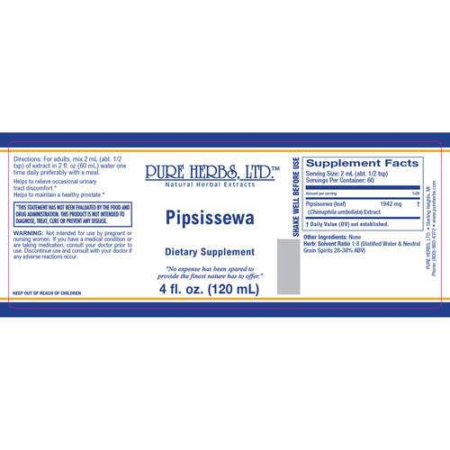 Pure Herbs, Ltd. Pipsissewa (4 oz.)
