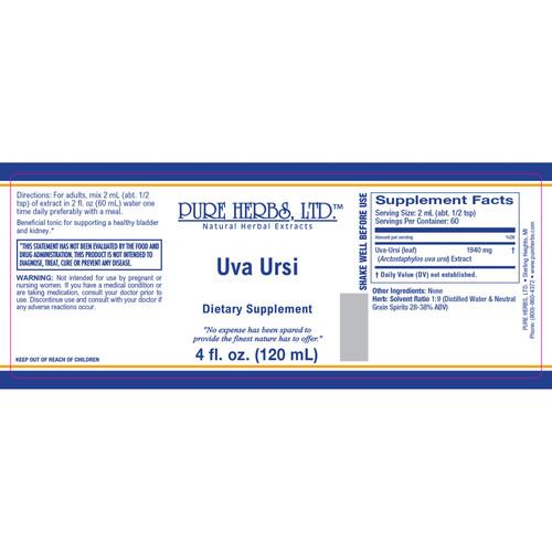 Pure Herbs, Ltd. Uva Ursi (4 oz.)