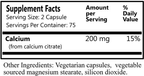 Daily Manufacturing Calcium Citrate (150)