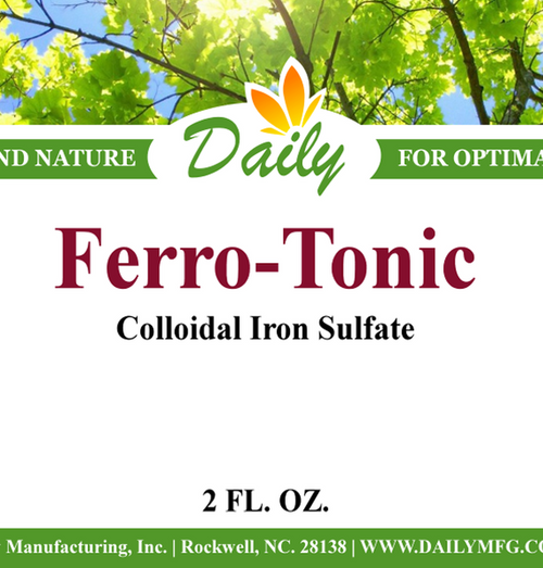 Daily Manufacturing Ferro-Tonic (2 oz.)