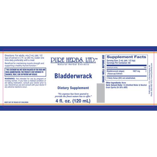 Pure Herbs, Ltd.  Bladderwrack (4 oz.)