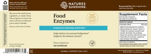 Food Enzymes (120 caps)