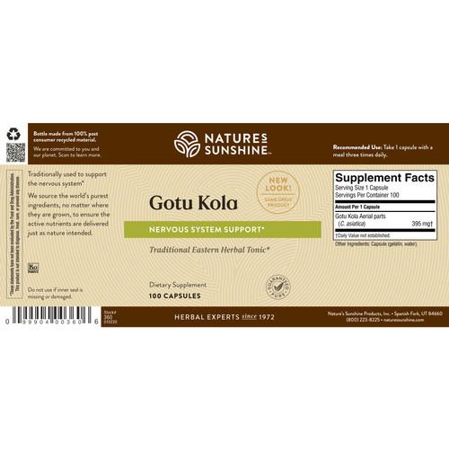 Gotu Kola (100 caps)