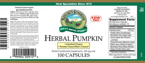 Herbal Pumpkin (100 caps)