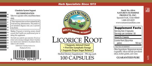 Licorice Root (100 caps)