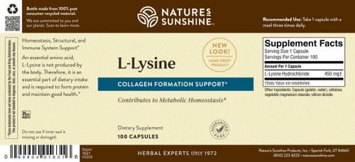 l-Lysine (100 caps)