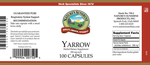 Yarrow (100 caps)
