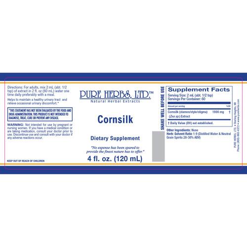 Pure Herbs, Ltd.  Cornsilk (4 oz.)