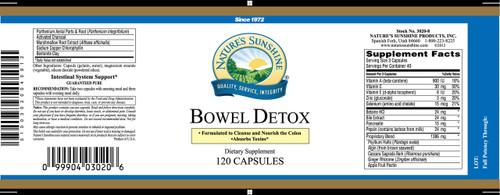 Bowel Detox (120 caps)