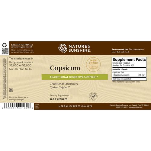 Capsicum (100 caps)