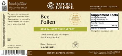 Bee Pollen (100 caps)