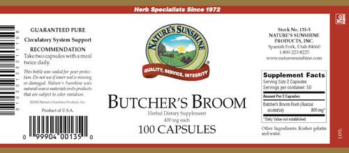 Butcher's Broom (100 caps)