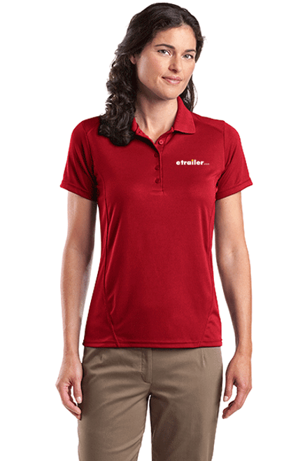 Sport-Tek® Ladies Dry Zone™ Raglan Accent Polo