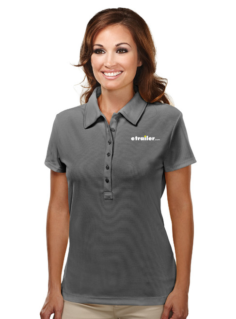 Ladies' Short Sleeve Knit Polo