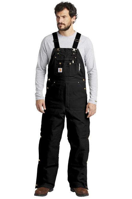 Zip-To-Thigh Bib Quilt Lined Biberall