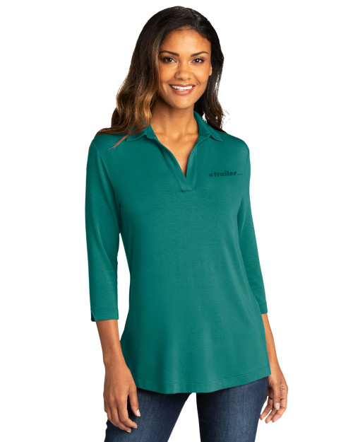 Ladies Luxe Knit Tunic