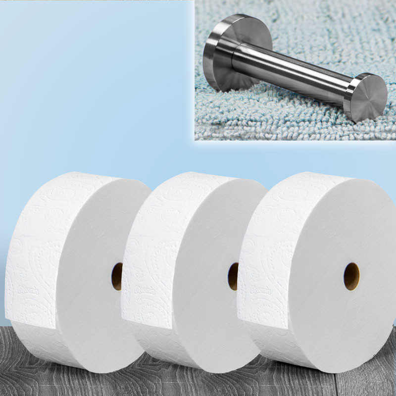 Forever Roll Starter Kit (Screw-In Wall Mount Included)