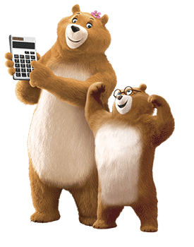 Bears with calculators