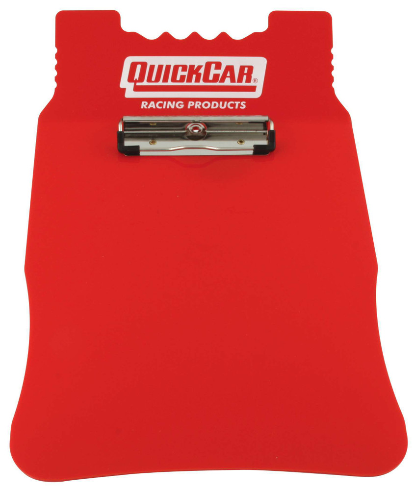51-041 Acrylic Clipboard- Red Quickcar Racing Products