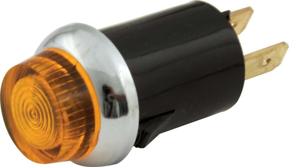 "61-704 Warning Light 3/4"" Amber Quickcar Racing Products"