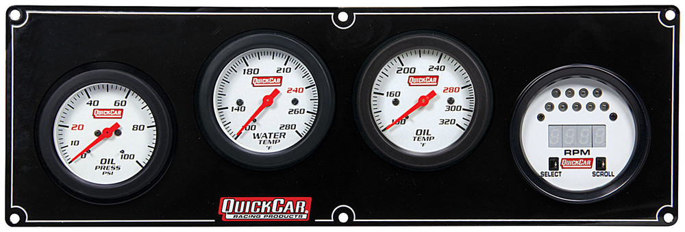 61-7041 Extreme 3-1 w/Tach Quickcar Racing Products