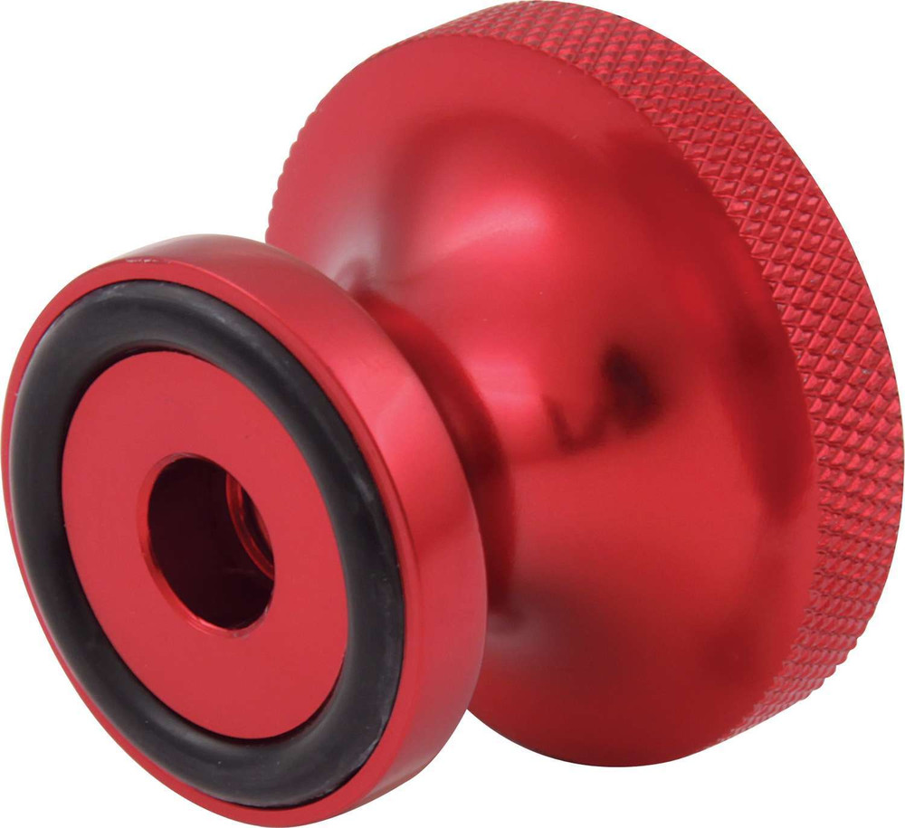 Nut - Air Cleaner - Thumb Screw - 5/16-18 in Thread - O-Ring - Aluminum - Red Anodize - Each