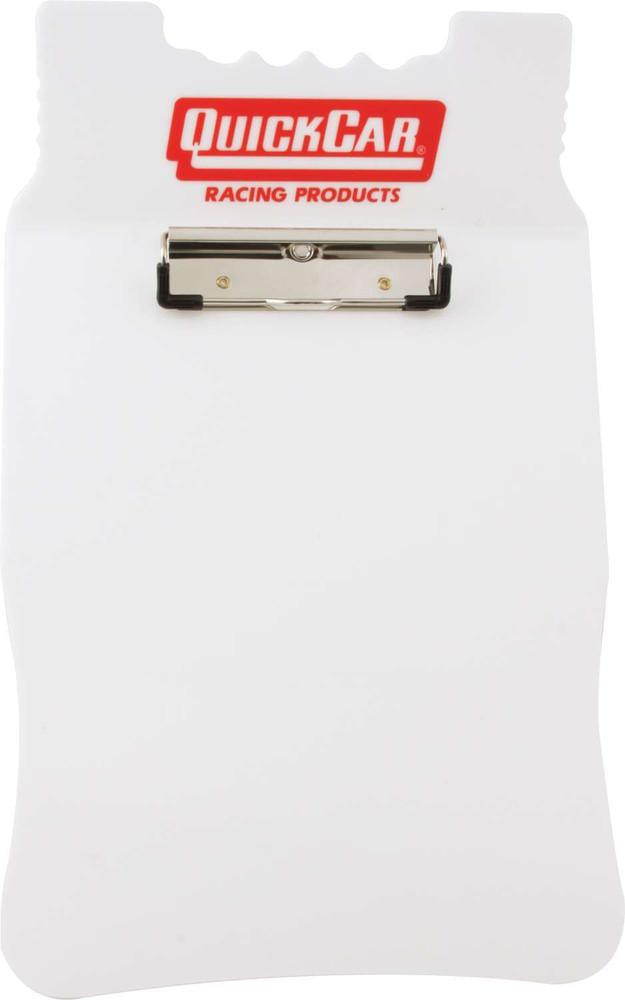 Clipboard - Acrylic - White - Each