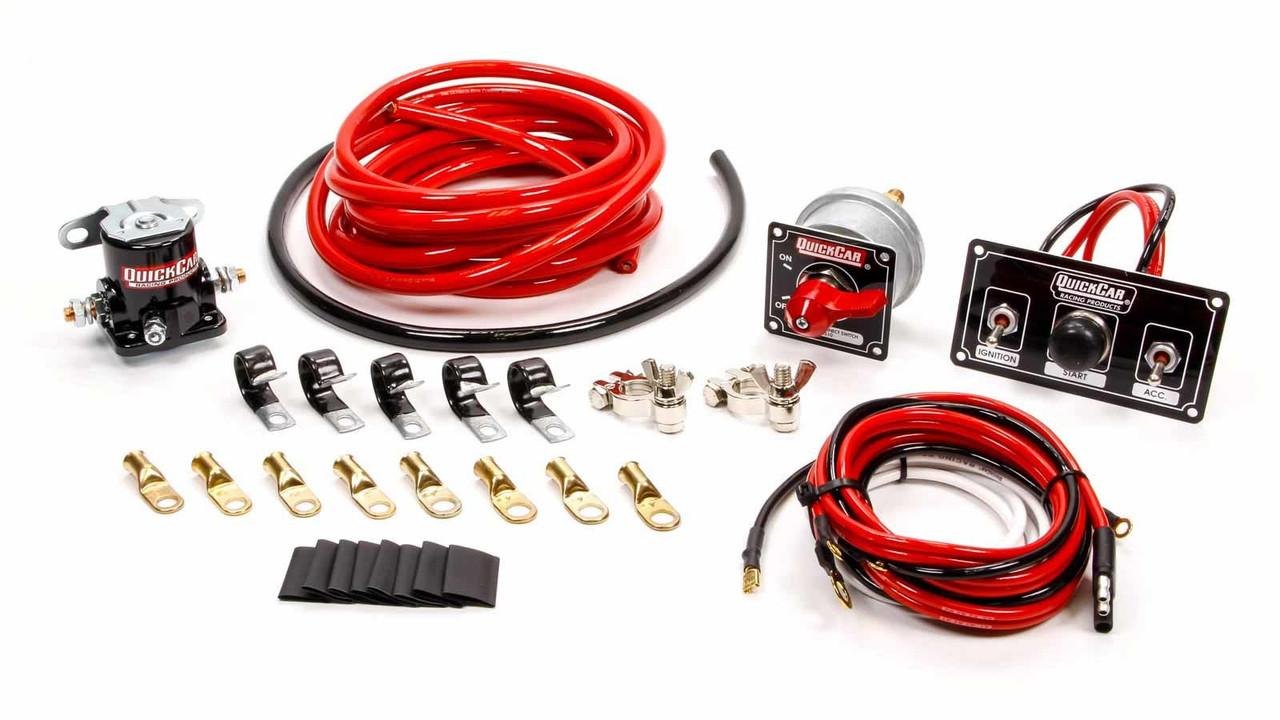 4 AWG Wiring Kit w/ 50-820 Switch Panel 50-832  Awg Wiring Kit on