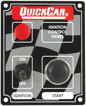 50-052 Ignition Panel w/ Light Quickcar Racing Products