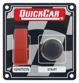 50-103 Ignition Panel w/ Flip Switch Quickcar Racing Products
