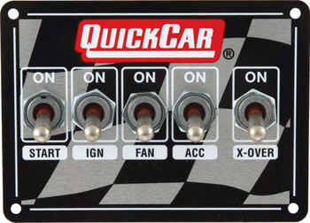 Dual Ignition 5 Switches w/ 3 Wheel Brake  50-1713 Quickcar Racing Products