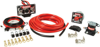 4 AWG Wiring Kit w/ 50-020 Switch Panel 50-232 Quickcar Racing Products