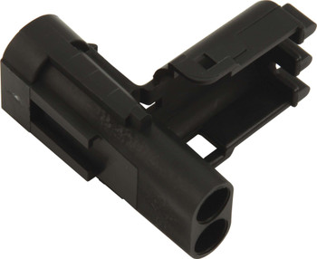 Male 2 Pin WeatherPack Connector 50-321 Quickcar Racing Products