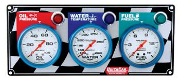 61-0621 3 Gauge Panel Quickcar Racing Products