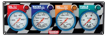 4 Gauge Panel 61-0631 Quickcar Racing Products