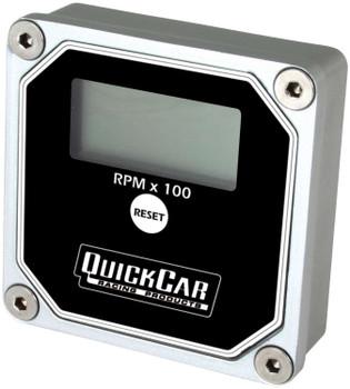 LCD Recall Tach Black 611-100 Quickcar Racing Products