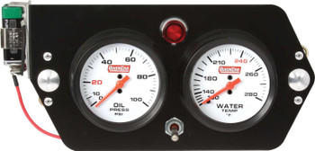 Gauge Panel Deluxe Sprint 61-6005 Quickcar Racing Products