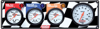Gauge Panel w/ Tach 61-60413 Quickcar Racing Products
