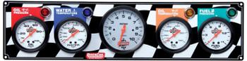 Gauge Panel w/ Tach 61-60513 Quickcar Racing Products